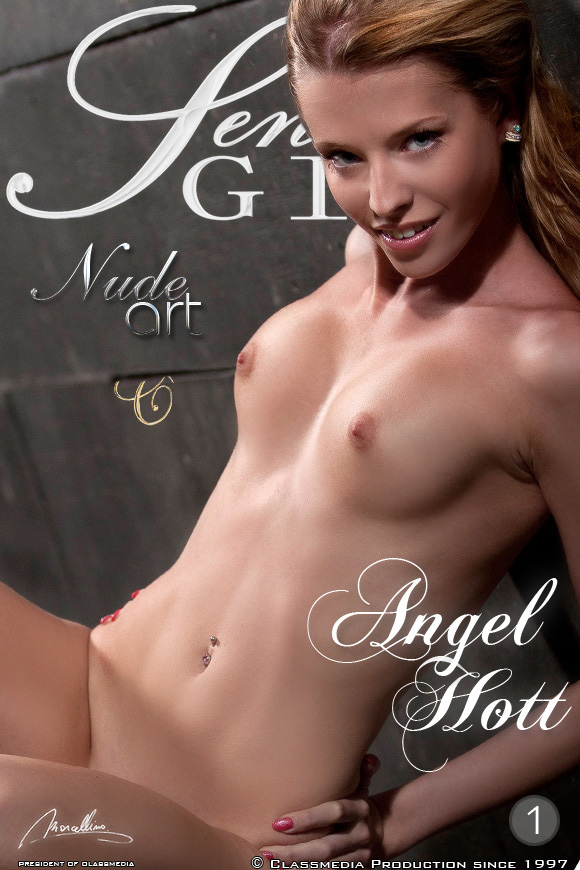 Angel Hot - Beautiful Angel Hott and her sweet pussy in hot nude pictorial